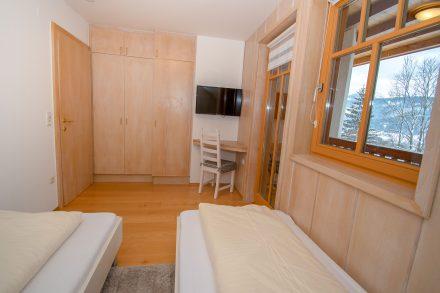 Villa Salza Obergeschoß - Schlafzimmer 2 Einzelbetten