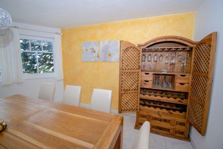 Villa Salza Erdgeschoß - Esszimmer