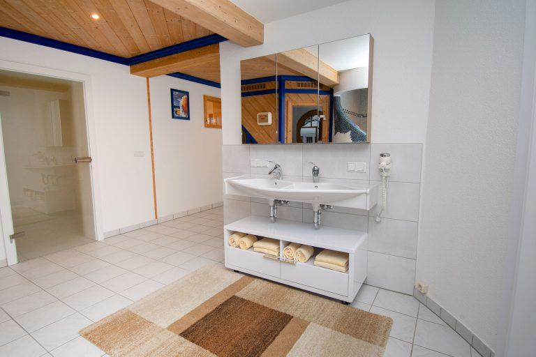 Villa Salza Untergeschoß - Saunabereich