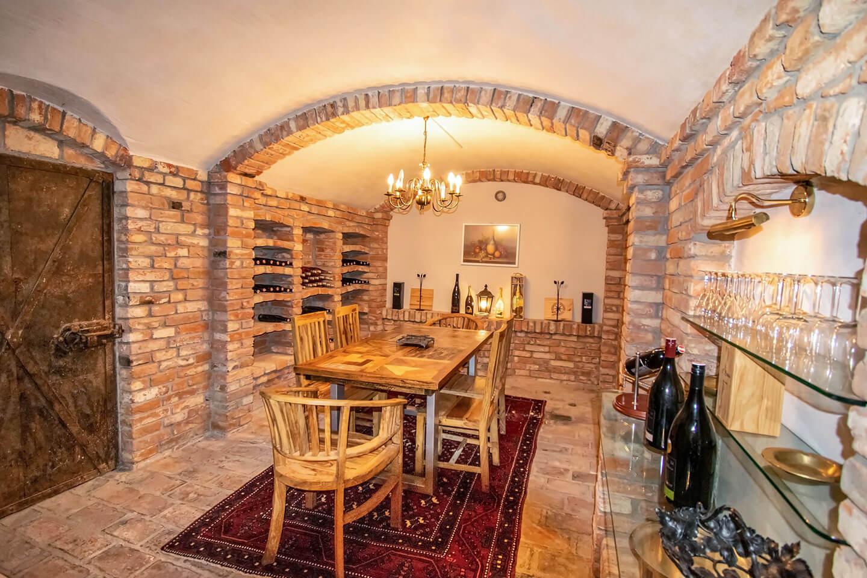 Villa Salza 2019 - Weinkeller